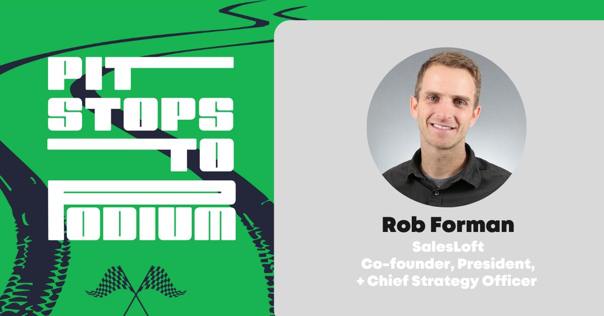 Rob Foreman SalesLoft